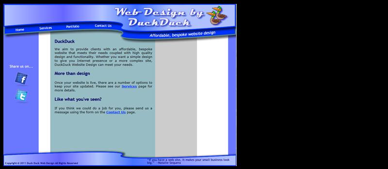 DuckDuck WebDesign