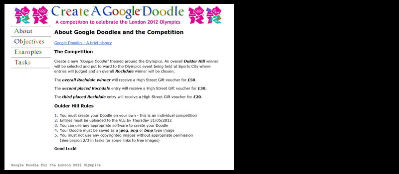 Google Doodle Competition Information